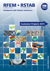 Customer projects calculated with structural analysis software RSTAB or RFEM from Dlubal